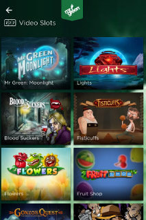 Mr Green Mobile Casino Slots