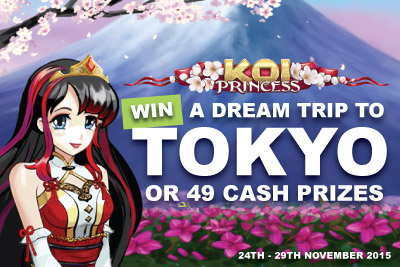 Win A Dream Trip To Tokyo Or 49 Cash Prizes At NetEnt Mobile Casinos