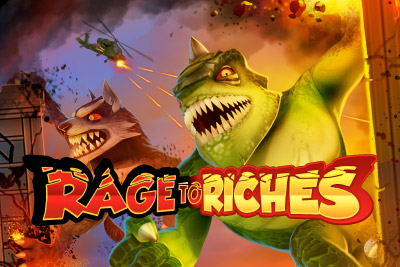 Rage to Riches Mobile Slot Logo