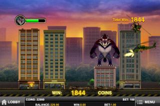 Rage to Riches Mobile Slot Bonus Game