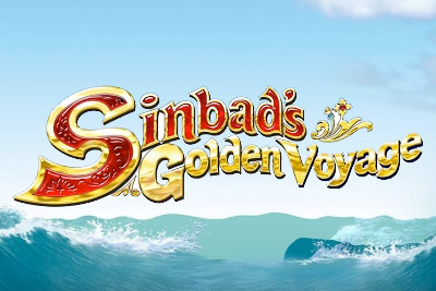 Sinbads Golden Voyage Mobile Slot Logo