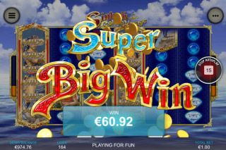Sinbads Golden Voyage Mobile Slot Big Win