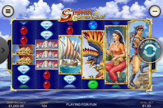 Sinbads Golden Voyage Mobile Slot Reels