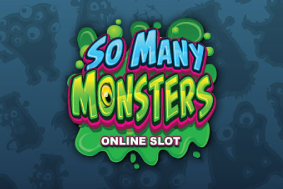 So Many Monsters Mobile Slot Logo