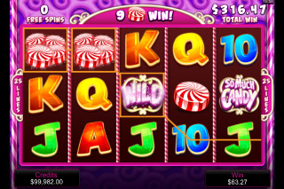So Much Candy Mobile Slot Free Spins