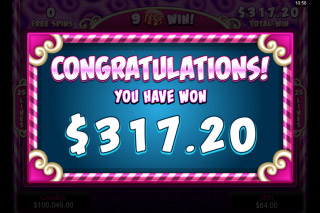So Much Candy Mobile Slot Free Spins Win