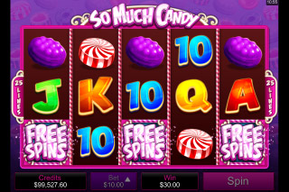 So Much Candy Mobile Slot Reels