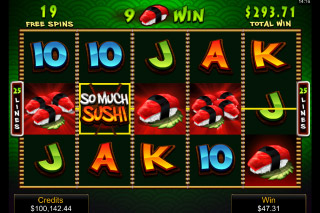 So Much Sushi Mobile Slot Free Spins