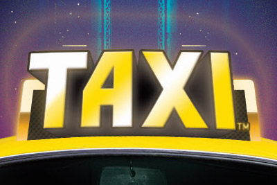Taxi Mobile Slot Logo