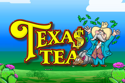 Texas Tea Mobile Slot Logo