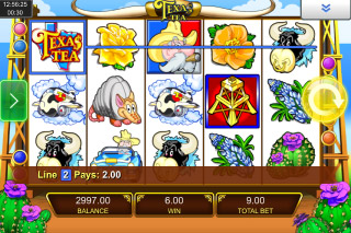 Texas Tea Mobile Slot Reels