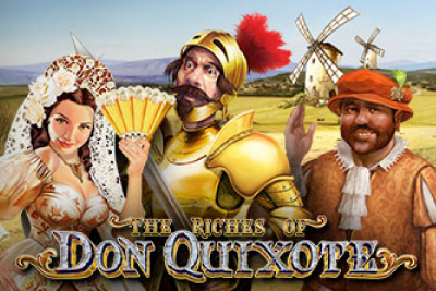 The Riches Of Don Quixote Mobile Slot Logo