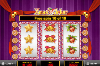 Xmas Joker Mobile Slot Free Spins