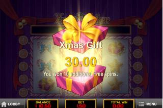 Xmas Joker Mobile Slot Bonus Gift