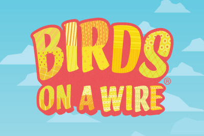 Birds On A Wire Mobile Slot Logo