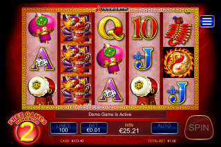 Dragon Lines Mobile Slot Free Spins