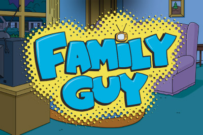 Family Guy Mobile Slot Logo