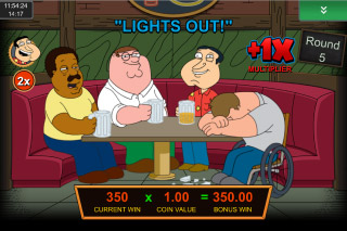 Family Guy Mobile Slot Drunken Clam Bonus
