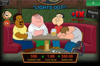 Family Guy Mobile Slot Drunken Clam Bonus