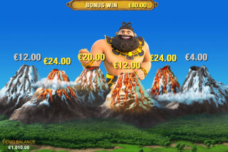 Jackpot Giant Mobile Slot Bonus Game
