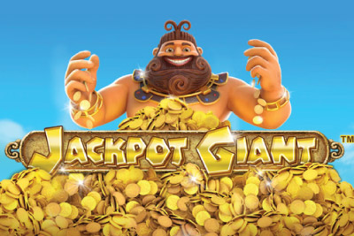 Jackpot Giant Mobile Slot Logo