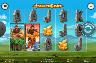 Jackpot Giant Mobile Slot Reels