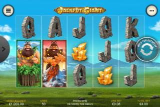 Jackpot Giant Mobile Slot Reels