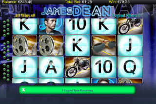 James Dean Mobile Slot Free Spins