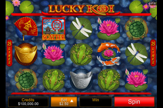 Lucky Koi Mobile Slot Reels