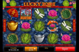 Lucky Koi Mobile Slot Reels