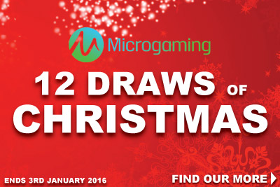 Play Microgaming Slots to Win Prizes Every Week In December