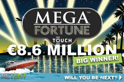 netent mega fortune winner