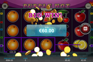 Purple Hot Mobile Slot Big Win