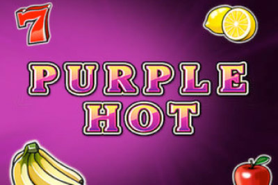 Purple Hot Mobile Slot Logo