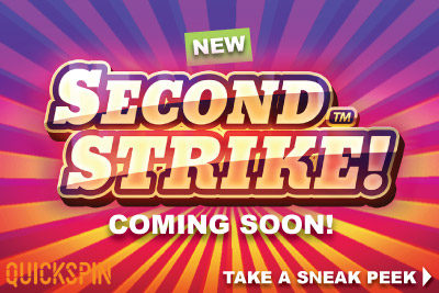 New Quickspin Second Strike Mobile Slot Coming Soon
