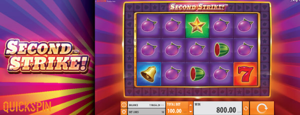 Second Strike Mobile Slot Machine