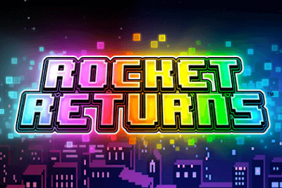 Rocket Returns Mobile Slot Logo