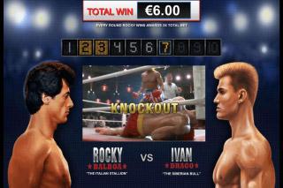Rocky Mobile Slot Knockout Bonus
