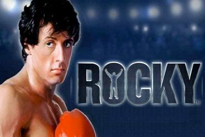 Rocky Mobile Slot Logo