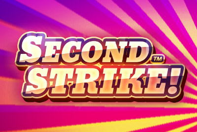 Second Strike Mobile Slot Logo