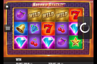 Second Strike Mobile Slot Reels