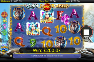 Spin Sorceress Mobile Slot Big Win