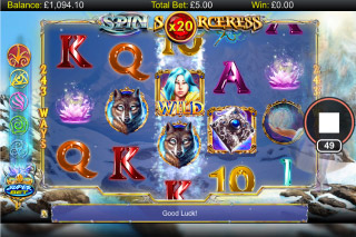 Spin Sorceress Mobile Slot Wilds