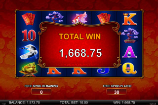 Wishing You Fortune Mobile Slot Big Win