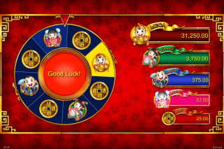 Wishing You Fortune Mobile Slot Bonus Wheel