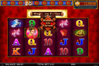 Wishing You Fortune Mobile Slot Reels