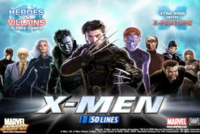 X-Men Mobile Slot Logo