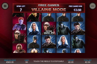 X-Men Mobile Slot Bonus