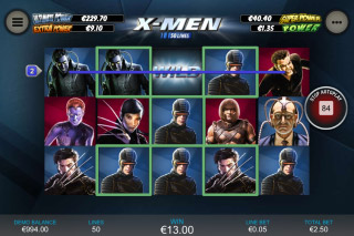 X-Men Mobile Slot Reels