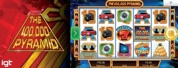 100,000 Pyramid Mobile Slot Preview